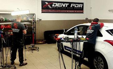 Oprava poškodeného auta od krúpov metódou PDR v Žiline