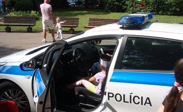 Mestskí policajti oslavovali Deň detí, v Sade SNP pripravili lákavý program pre najmenších