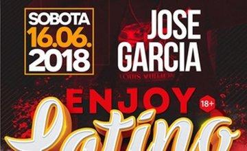 Pozvánka: Latino sobota s JOSE GARCIA v enjoyclube