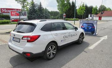 Skúška novej technológie EyeSight od Subaru