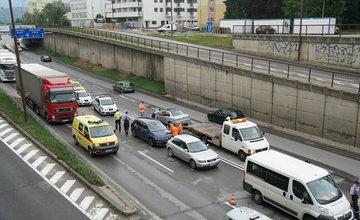 Dopravná nehoda Žilina - ulica Antona Bernoláka