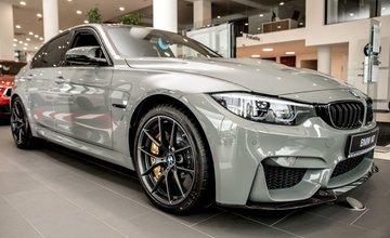 Exkluzívne BMW M3 CS z limitovanej edície 1200 kusov