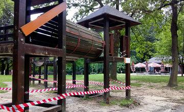 Prvá etapa revitalizácie žilinského lesoparku Chrasť