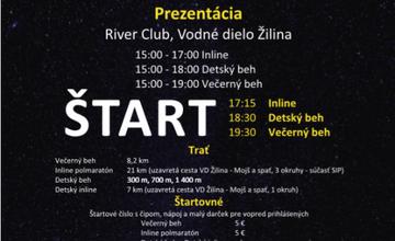 Prihláste sa aj vy na Žilinský večerný Rotary beh a inline 27. júla na Vodnom diele Žilina