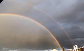 VEĽKÝ FOTOALBUM: Dúha 1. júla 2018 zachytená objektívmi našich čitateľov