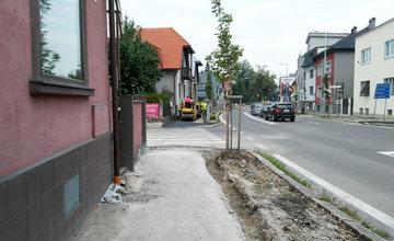Rekonštrukcia chodníkov Staré mesto Žilina 2018