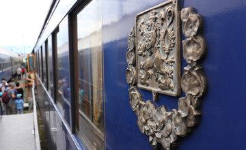 FOTO: Do Žiliny zavítal historický vlak s vozňami československých prezidentov