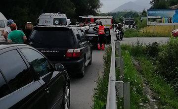 Dopravná nehoda pri obci Krasňany 14.7.2018
