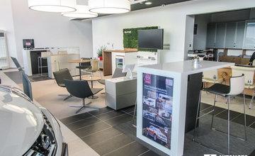 Vynovený showroom autorizovaného predajcu Nissan Žilina