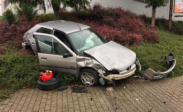 Dopravná nehoda na križovatke ulíc Priemyselná a Kragujevská 19.7.2018