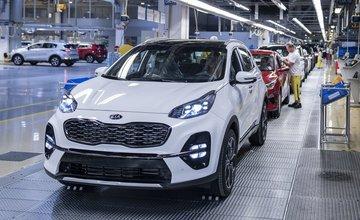 Závod Kia Motors Slovakia prechádza produktovou obmenou