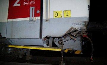 FOTO: Zrážka vlaku s traktorom v obci Svrčinovec 20.7.2018
