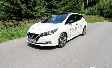 Redakčný test Nissan Leaf