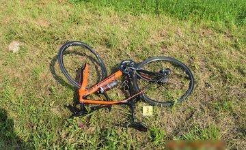 Dopravná nehoda v Stráži - zrážka s cyklistom