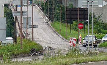 FOTO: Rekonštrukcia zjazdu od Estakády na Bratislavu sa začala