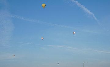 FOTO: Rajecká balónová fiesta štartovala dnes ráno pri Žiline