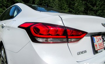 Redakčný test Genesis G80