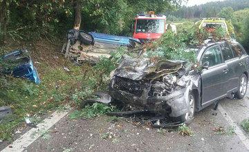 Dopravná nehoda pri Turčianskych Tepliciach 26.8.2018