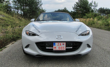 Redakčný test Mazda MX-5 ST
