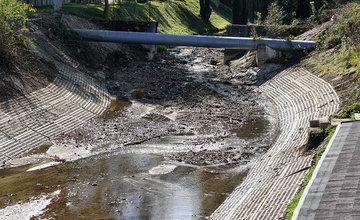 FOTO: Koryto potoka Rosinka na Vodnom diele po rokoch vyčistili