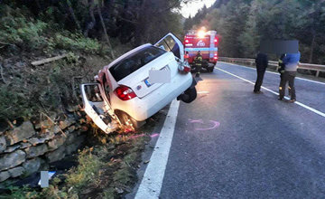 Tragická dopravná nehoda na Liptove 6.10.2018