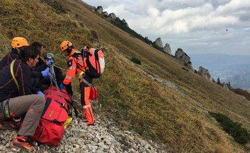 Mladý slovenský turista sa zranil v Malej Fatre 7.10.2018