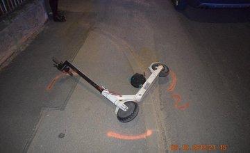 Nehoda kolobežkára v mestskej časti Závodie 6.10.2018