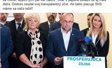 Predvolebná antikampaň 2018 Žilina