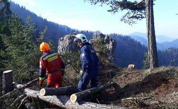 Požiar v Gaderskej doline