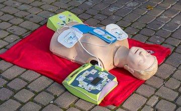 Prvý automatický externý defibrilátor v Žiline