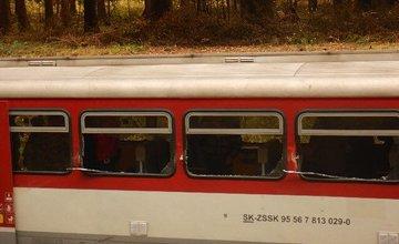 FOTO: Nehoda osobného vlaku medzi obcami Horná Štubňa a Sklené - 30.10.2018