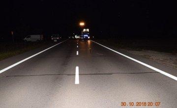 Dopravná nehoda cyklistu a dvoch osobných áut medzi Bytčou a Považskou Bystricou