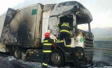 Dopravná nehoda kamióna a osobného auta na Orave 10.11.2018