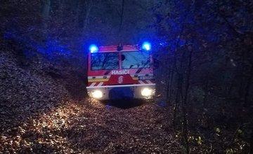 Požiar v časti Varín - Koňhora 11.11.2018