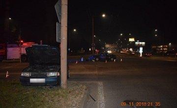 Dopravná nehoda Košická ulica Žilina