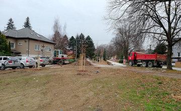 Revitalizácia verejného priestoru na ulici Juraja Závodského v Závodí