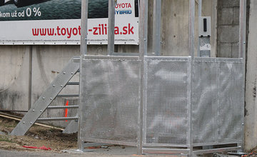 Prístrešok pre manuálne riadenie semaforu na Košickej ulici v Žiline