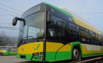 Nové elektrobusy Škoda 26 BB v Žiline
