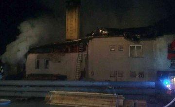 Požiar v obci Korňa, okres Čadca - 23.11.2018
