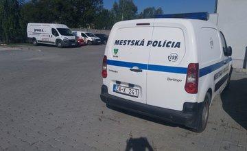 Vozidlo Citroen Berlingo Mestskej polície Žilina je na predaj