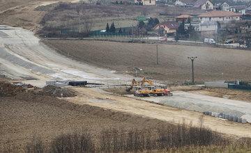 FOTO: Aktuálny stav prác na privádzači D1 Lietavská Lúčka - Žilina k 1.12.2018