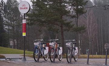 FOTO: V meste sú inštalované prvé bicykle pre bikesharing