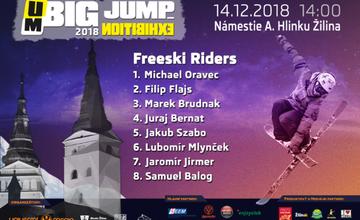 BIG JUMP #8 zavíta 14. decembra do Žiliny na Hlinkovo námestie