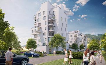 Nová štvrť Kamence v Kysuckom Novom Meste