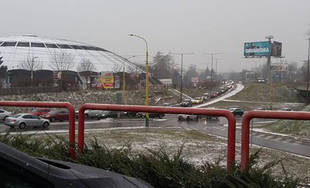 FOTO: Kolaps dopravy v Žiline 21.12.2018