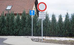 """Nová autobusová zastávka """"Teplička Pod Vršky"""""""
