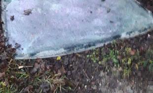 Poškodenie osobného auta v mestskej časti Považský Chlmec 1.1.2019