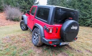 Redakčný test Jeep Wrangler