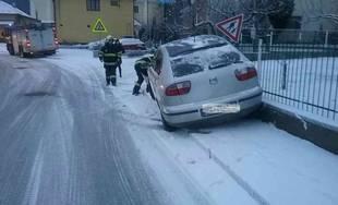 Zásahy hasičov v Žilinskom kraji v súvislosti s nepriaznivým počasím 3.1.2019
