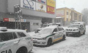 Nahlásená bomba v Auparku v Žiline 5.1.2019